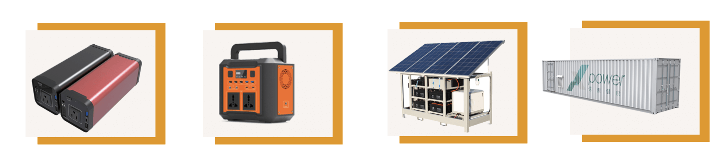 Portable outdoor power supply & energy storage system ESS
