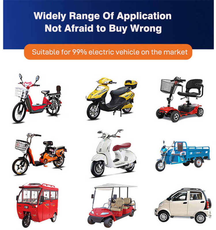 Motorcycle battery application