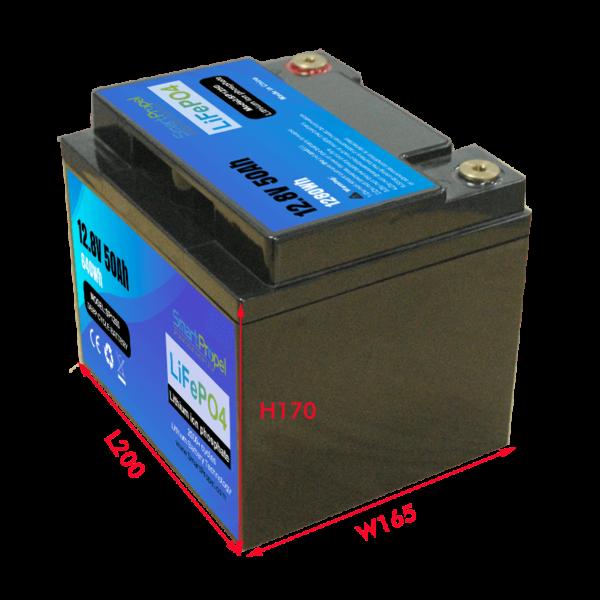 12V 50Ah Energy storage batter