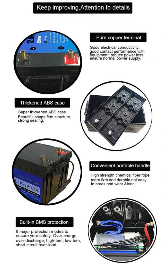 12V lithium battery product details