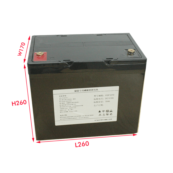 12V70Ah Lithium Battery Pack