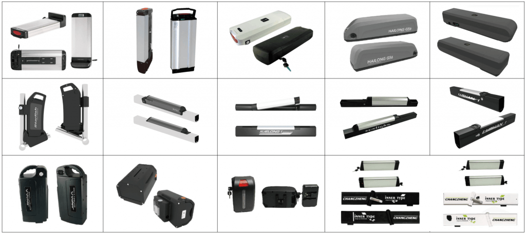 More Ebike battery Models2