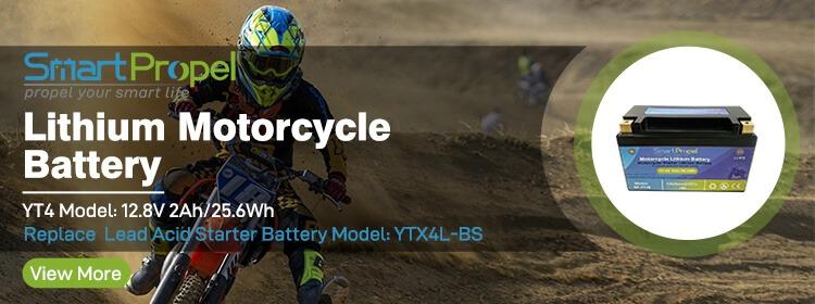 Motorcycle starter battery Banner YT7B