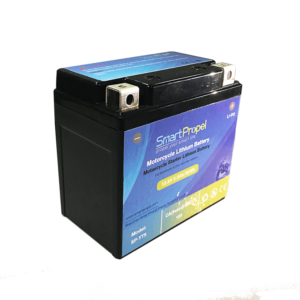 Motorcycle starter lithium battery