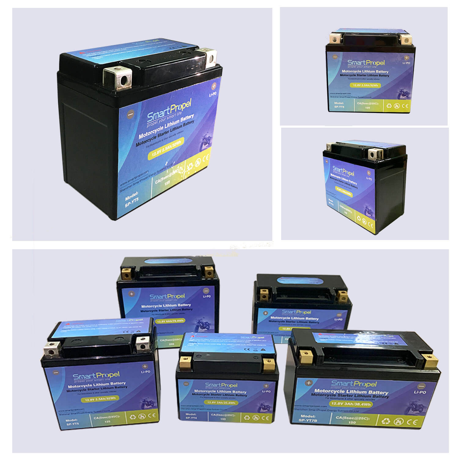YT5 motorcycle lithium battery