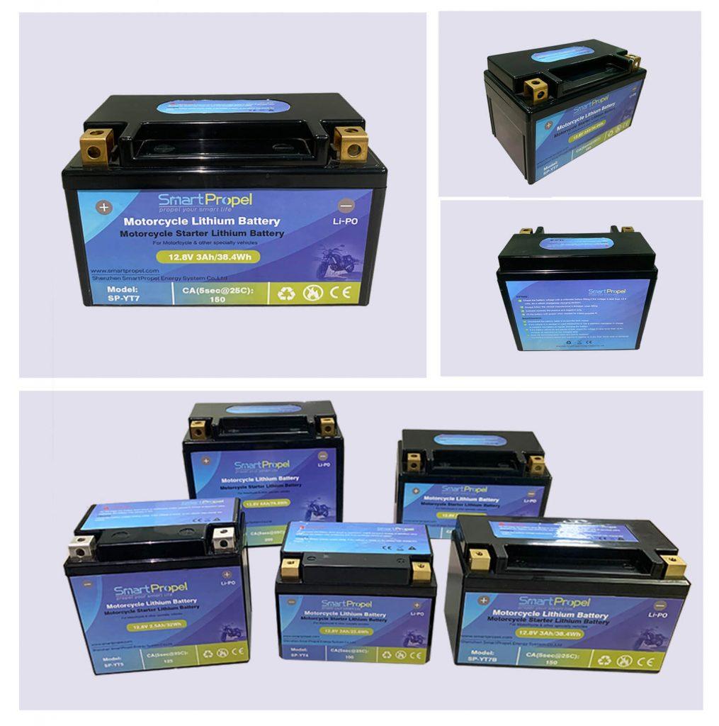 YT7 motorcyclel ithium battery