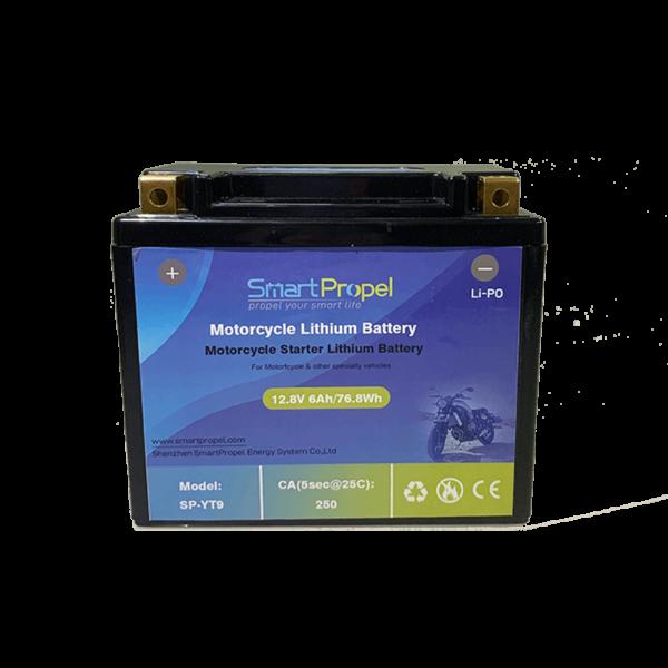 YT9 starter lithium battery