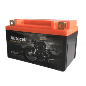 Motorcycle starter battery 1