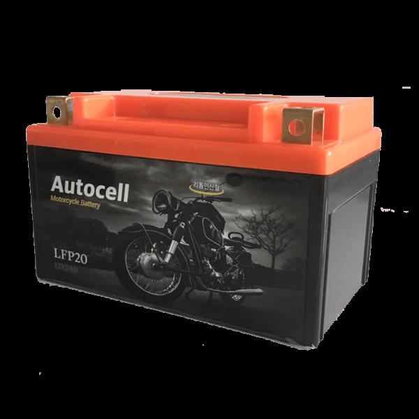 Motorcycle starter battery 1
