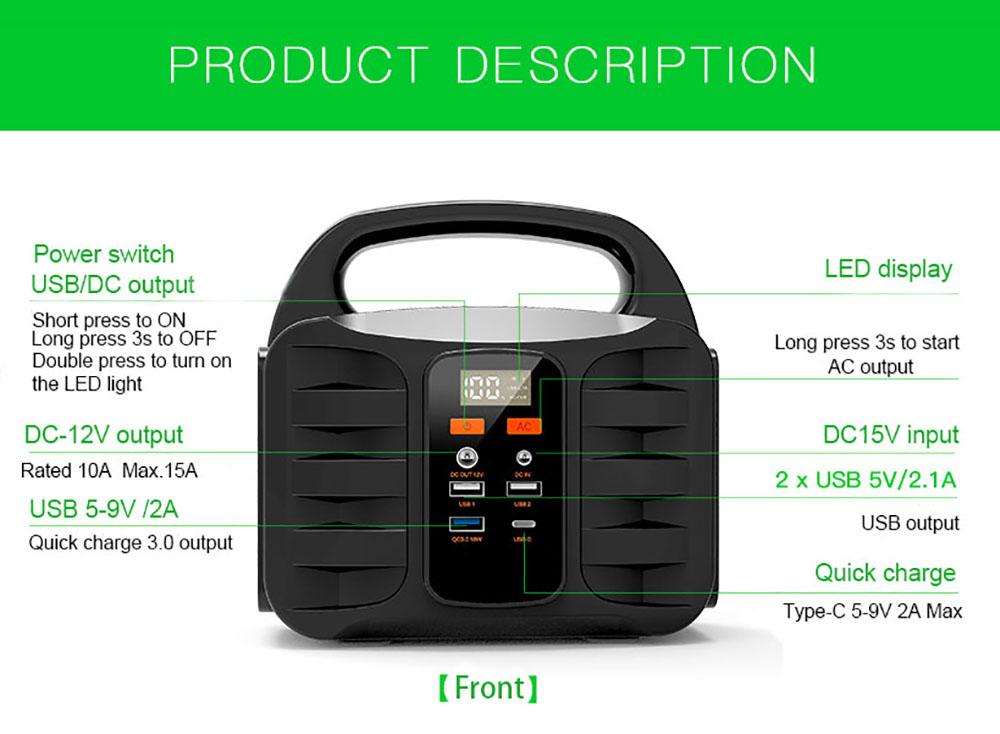 ESS product description 1000