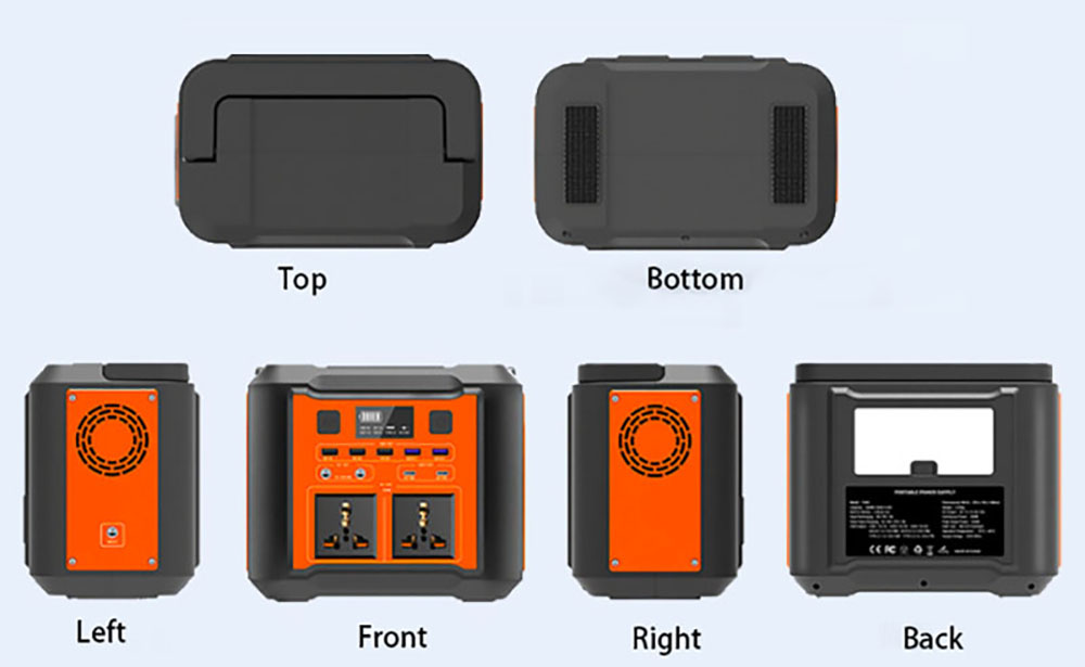 UPS Power Supply different views