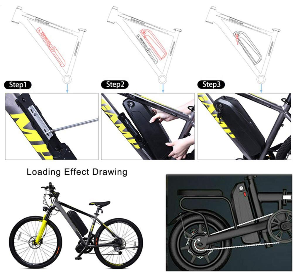 Ebike Lithium Battery Installation Steps
