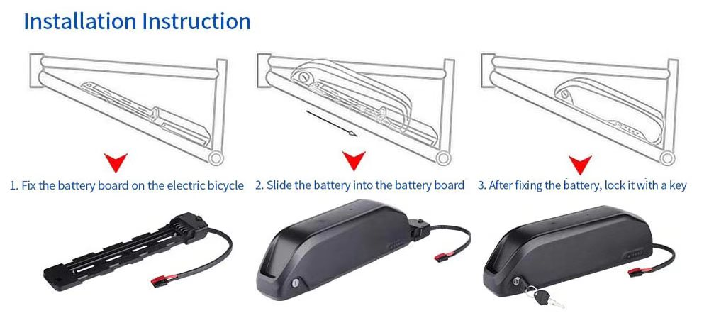 Parrot Type Electric Bike Lithium Battery