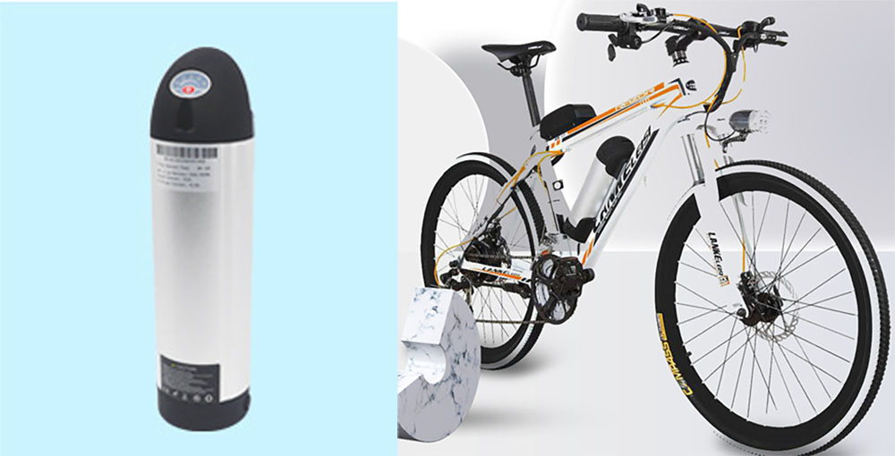 Water bottle Ebike Lithium Battery