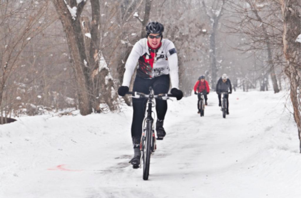 Ebike In snow
