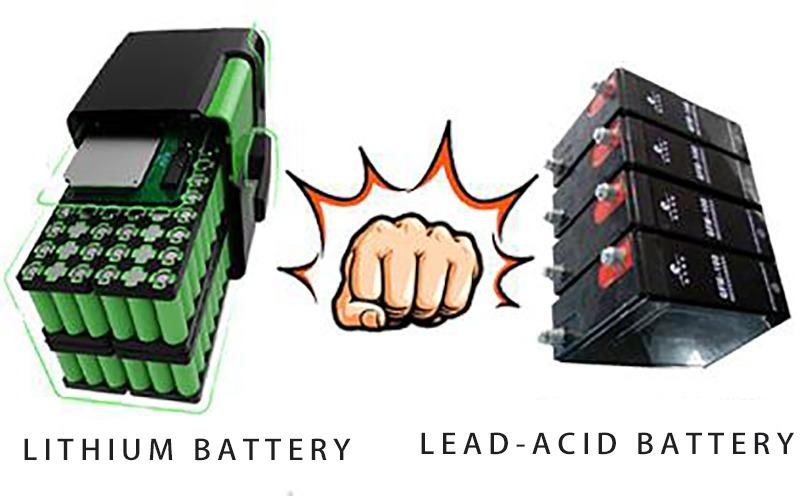 LIthium Battery VS Lead Acid Battery