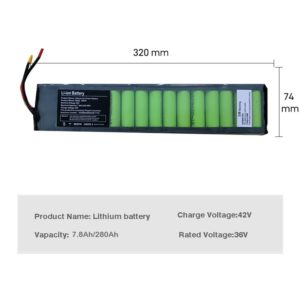 36V Electric scooter lIthium Battery