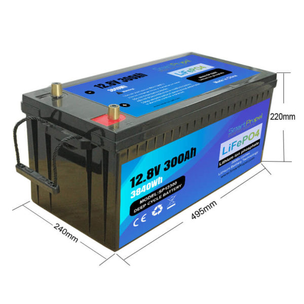 12V 300Ah lithium battery