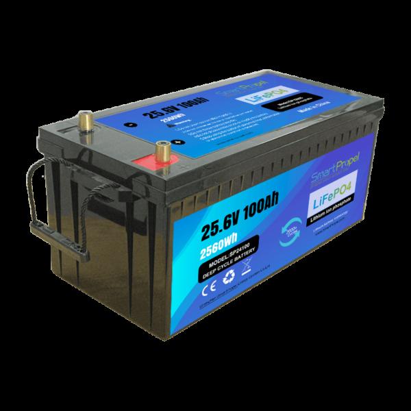 24V 100AH battery