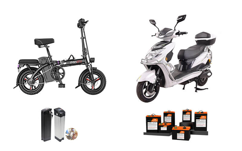 Replace lead acid motorcycle lithium ion battery
