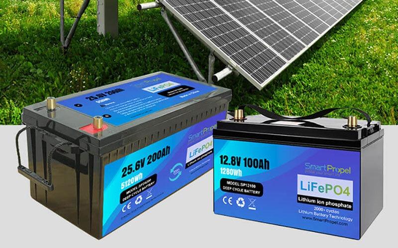 Energy storage lithium battery